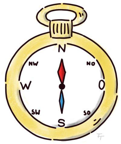Skalierungsfragen im Coaching wie einen Kompass nutzen
