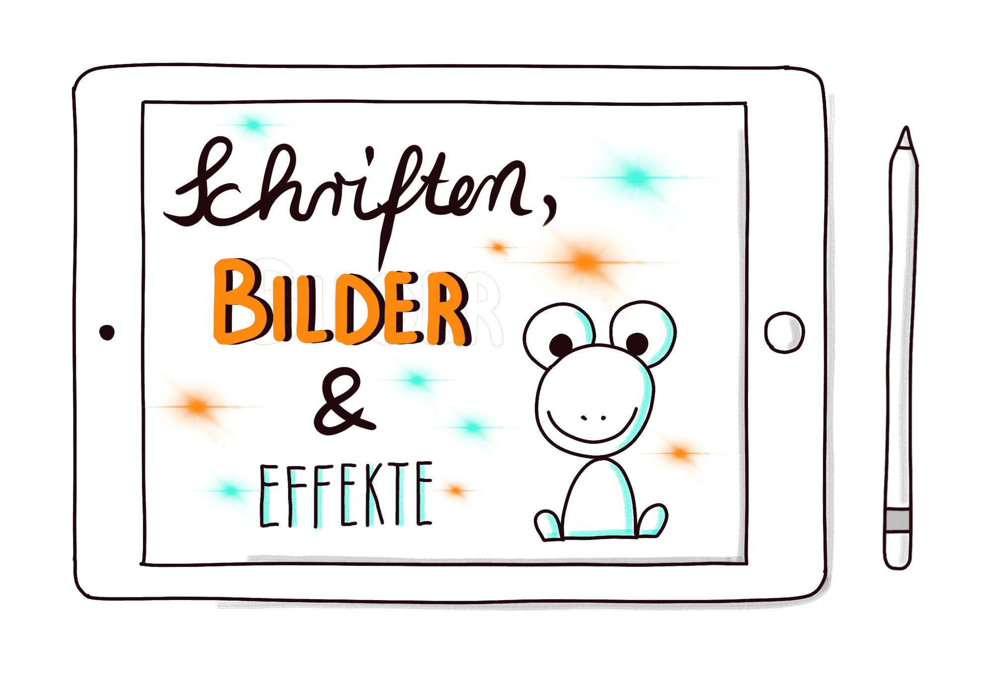Zeichnen auf dem iPad - das Webinar - eigene Bilder leicht erstellen