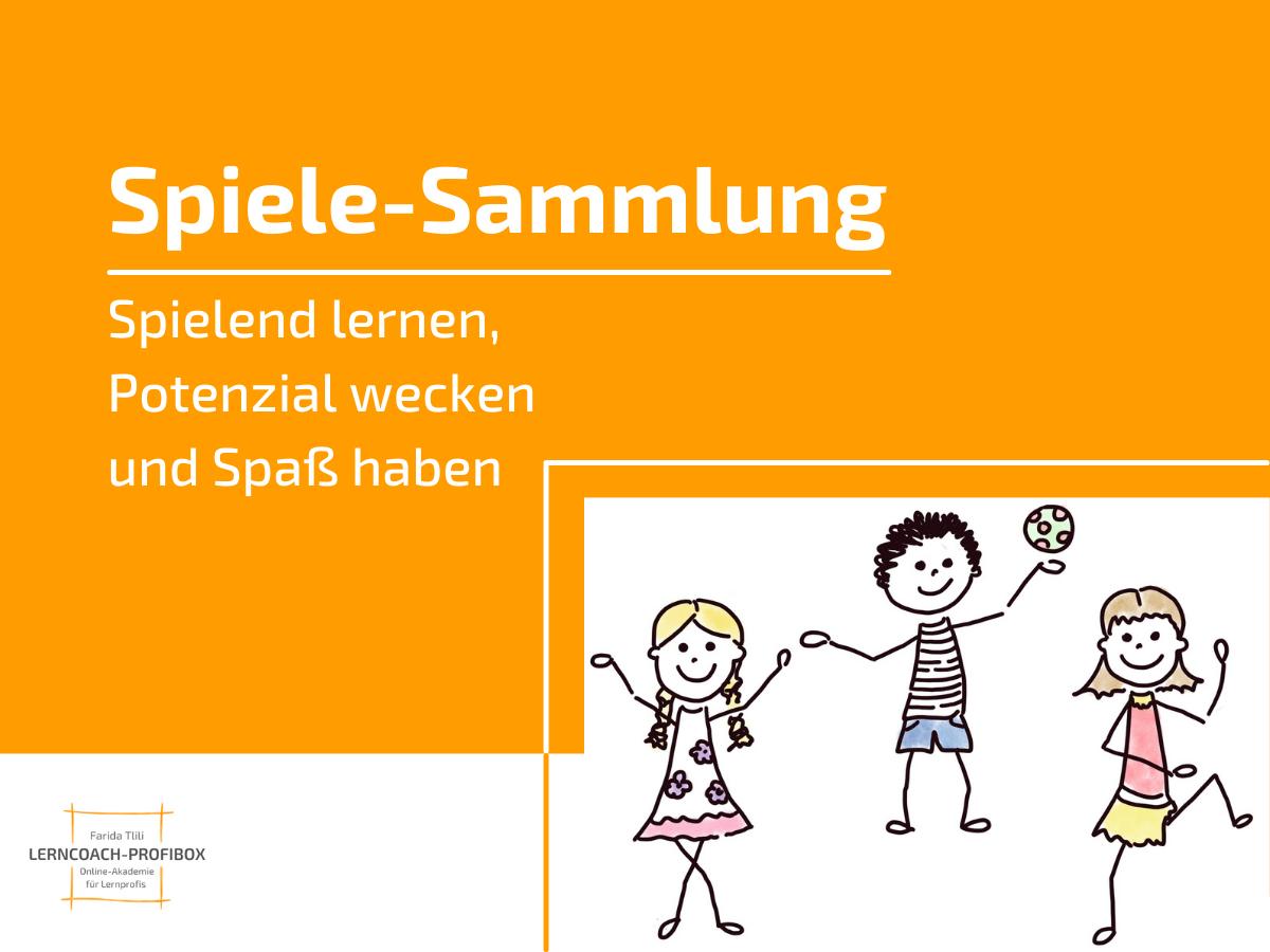 Spiele-Sammlung - Lernkompetenzen trainieren - Lerncoach-Profibox